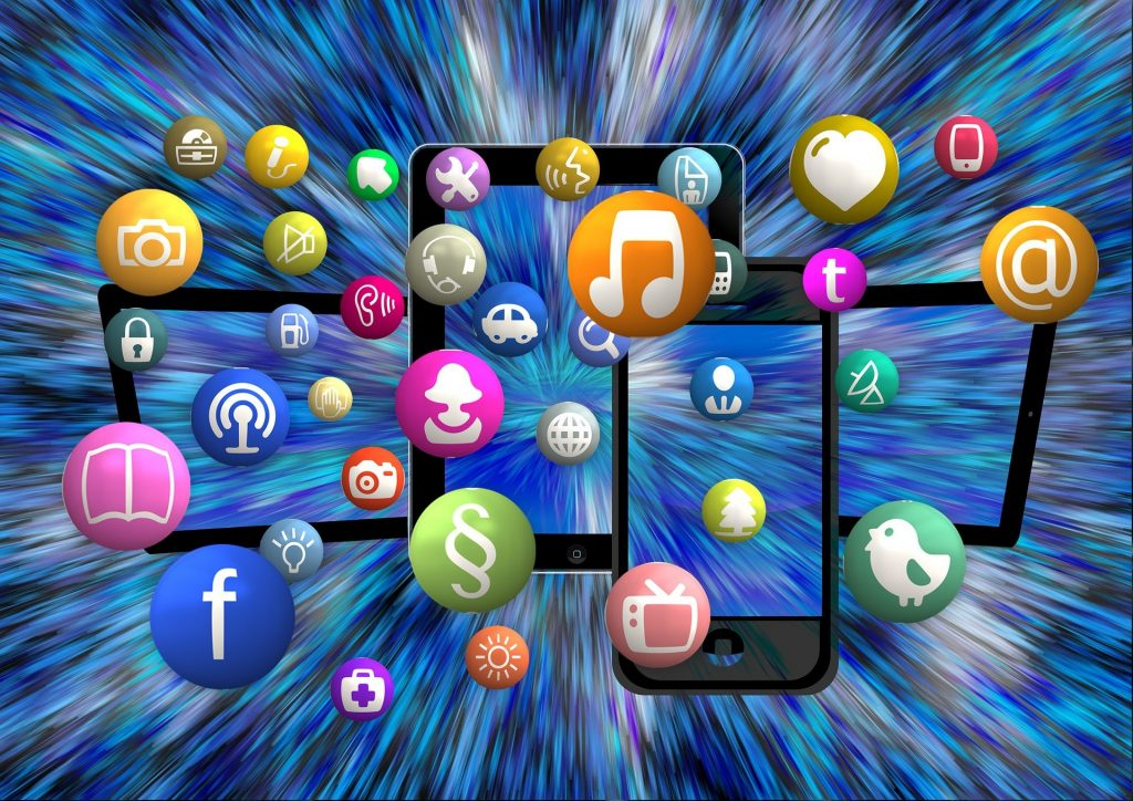 social media apps und mehr